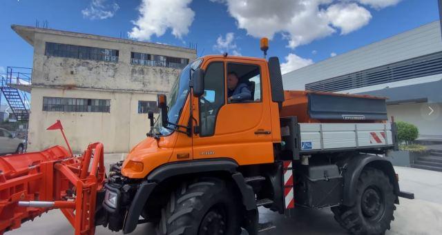 Ένα όχημα – πολυμηχάνημα δωρεά της της εταιρίας «Οικογένειας Στεργίου ΑΕ» στην υπηρεσία του Δήμου Μακρακώμης