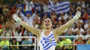 Χρυσός Ολυμπιονίκης ο Λευτέρης Πετρούνιας στους κρίκους