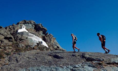 Hiking, Naxos
