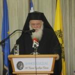 Αρχιεπίσκοπος προς Χρυσή Αυγή: Η Εκκλησία δεν θέλει προστάτες και σωτήρες