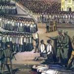 Μηχανή του Xρόνου: Το μπλόκο της Καλογρέζας. 22 Έλληνες εκτελούνται από τα τάγματα ασφαλείας. Στην Καλογρέζα κάνει και την πρώτη εκτέλεση χωροφύλακα, η ΟΠΛΑ