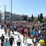 Πανελλαδική απεργία: Σε εξέλιξη η πορεία