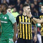 Παναθηναϊκός – ΑΕΚ 1-1: Έσωσε την παρτίδα με Λιβάγια σε νεκρό χρόνο