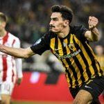 Με επική ανατροπή και…Λάζαρο, η ΑΕΚ νίκησε 3-2 τον Ολυμπιακό