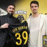 Παίκτης της ΑΕΚ ο Μοράν – Γιατί επέλεξε τη φανέλα με το νούμερο 39