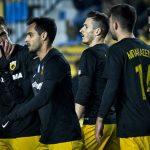 Οι παίκτες της ΑΕΚ πρωτοτυπούν: Στέλνουν ευχές και παίζουν μπάλα στην «Αγιά Σοφιά» (video)