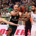 Euroleague: O Παναθηναϊκός διέλυσε την Ρεάλ Μαδρίτης με 95-67