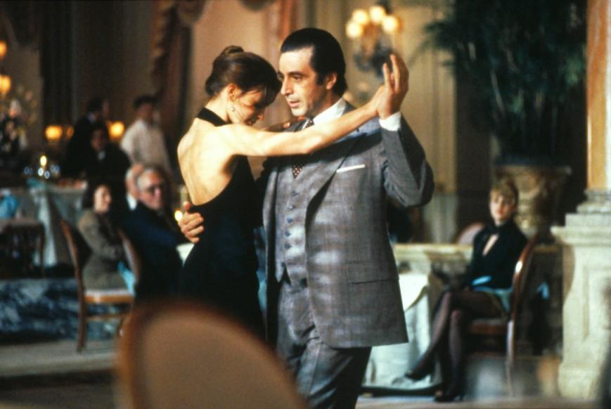 Gabrielle Anwar και Al Pacino στο φιλμ του 1992 «Scent of a Woman».