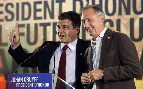 cruyff+Laporta
