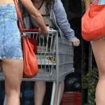 Έτσι πηγαίνει σούπερ μάρκετ η διάσημη ηθοποιός!