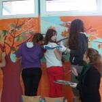 Γυμνάσιο Μακρακώμης: «Εικαστική παρέμβαση στους τοίχους του σχολείου»