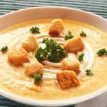 Κρεμώδης σούπα λαχανικών