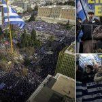 Ολα όσα έγιναν στο ογκώδες συλλαλητήριο για την Μακεδονία
