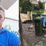 Μακρακώμη:  Ένας Πρόεδρος φωτογραφίζει τα σκουπίδια…