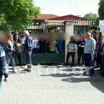 Κατάληψη στο Λύκειο Γραβιάς για την απόφαση κατάργησης του εξεταστικού τους κέντρου
