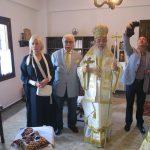 Πραγματοποιήθηκε η πρώτη Θεία Λειτουργία στον Ιερό Μοναστηριακό Ναό του Αγίου Αθανασίου στο Περίβλεπτο της Δυτικής Φθιώτιδος